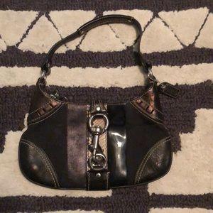Authentic Coach Handbag- Black